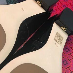 Brand new Tori Burch heels size 7